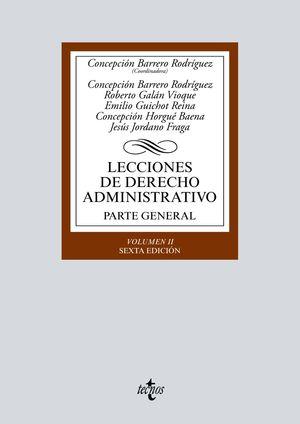 LECCIONES DE DERECHO ADMINISTRATIVO (6 EDICION 2020)