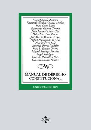 MANUAL DE DERECHO CONSTITUCIONAL (11 EDICION 2020)