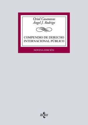 COMPENDIO DE DERECHO INTERNACIONAL PÚBLICO (9 EDICION 2020)