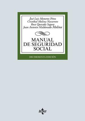MANUAL DE SEGURIDAD SOCIAL (16 EDICION 2020)