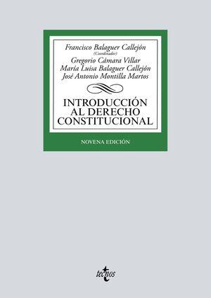 INTRODUCCIÓN AL DERECHO CONSTITUCIONAL (9 EDICIO 2020)