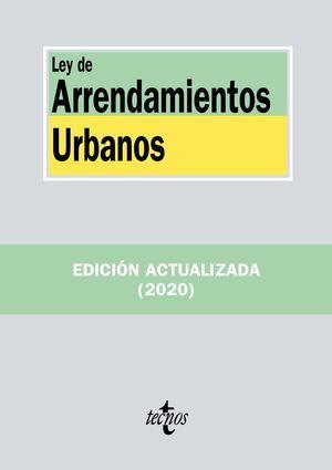LEY DE ARRENDAMIENTOS URBANOS (EDICION ACTUALIZADA 2020)