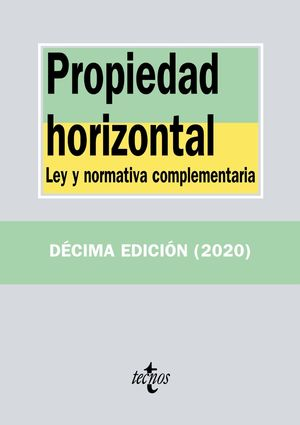 PROPIEDAD HORIZONTAL (10 EDICION 2020)