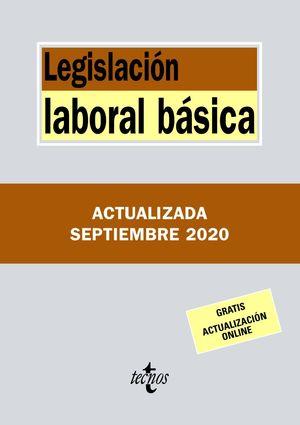 LEGISLACIÓN LABORAL BÁSICA (ACTUALIZADA SEPTIEMBRE 2020)