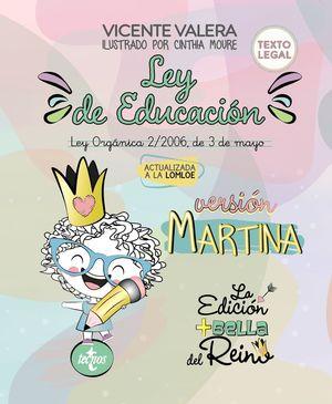 LEY DE EDUCACIÓN VERSIÓN MARTINA