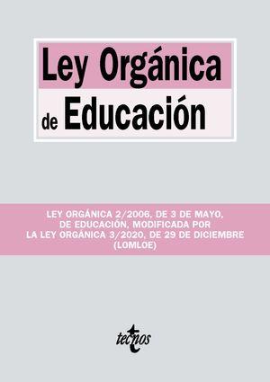 LEY ORGÁNICA DE EDUCACIÓN