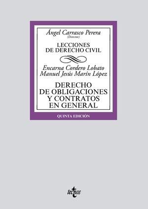 LECCIONES DE DERECHO CIVIL. DERECHO DE OBLIGACIONES Y CONTRATOS EN GENERAL (5 EDICION 2021)
