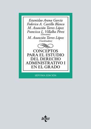 CONCEPTOS PARA EL ESTUDIO DEL DERECHO ADMINISTRATIVO I EN EL GRADO (7 EDICION 2021)