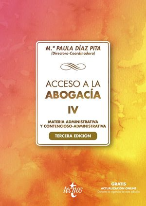 ACCESO A LA ABOGACÍA IV (3 EDICION 2021)