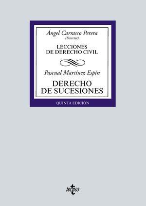 LECCIONES DE DERECHO CIVIL. DERECHO DE SUCESIONES (5 EDICION 2021)