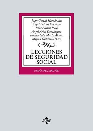 LECCIONES DE SEGURIDAD SOCIAL (11 EDICION 2021)