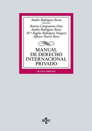 MANUAL DE DERECHO INTERNACIONAL PRIVADO (8 EDICION 2021)