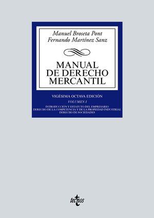 MANUAL DE DERECHO MERCANTIL (28 EDICION 2021)