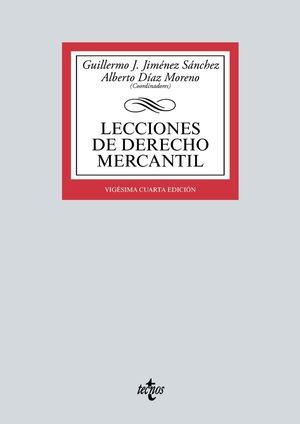 LECCIONES DE DERECHO MERCANTIL (24 EDICION 2021)