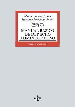 MANUAL BÁSICO DE DERECHO ADMINISTRATIVO (18 EDICION 2021)