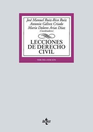 LECCIONES DE DERECHO CIVIL (3 EDICION 2021)