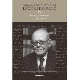 ESCRITOS MENORES IX (1951-1990)