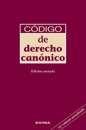 CODIGO DE DERECHO CANONICO (10ª EDICION)