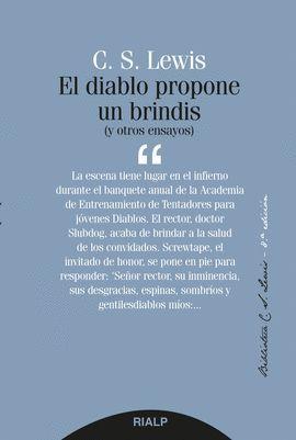 DIABLO PROPONE UN BRINDIS, EL