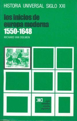 INICIOS DE LA EDAD MODERNA, LOS 1550-1648