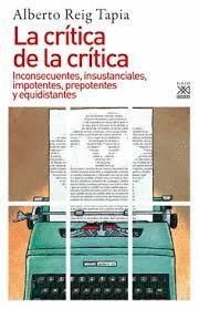 CRÍTICA DE LA CRÍTICA, LA