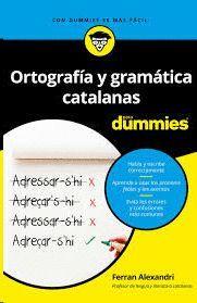 ORTOGRAFIA Y GRAMATICA CATALANAS PARA DUMMIES