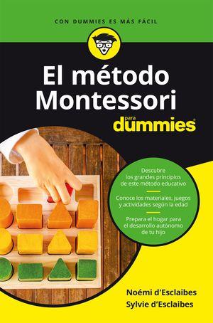 MÉTODO MONTESSORI PARA DUMMIES, EL