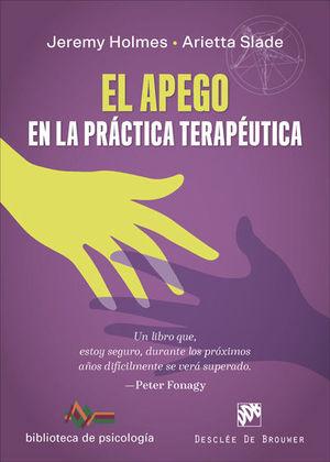 APEGO EN LA PRÁCTICA TERAPÉUTICA, EL
