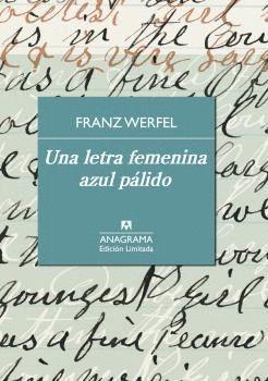LETRA FEMENINA AZUL PÁLIDO, UNA