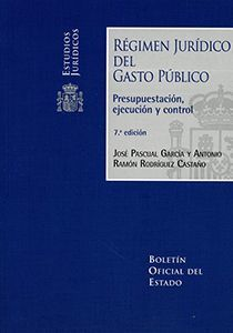 REGIMEN JURIDICO DEL GASTO PUBLICO