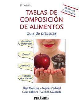 TABLAS DE COMPOSICIÓN DE ALIMENTOS (19 EDICION 2018)