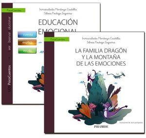 MUCHO MÁS QUE UN CUENTO. UN LIBRO QUE GUIA: EDUCACIÓN EMOCIONAL+ CUENTO: LA FAMILIA DRAGÓN Y LA MONTAÑA DE LAS EMOCION