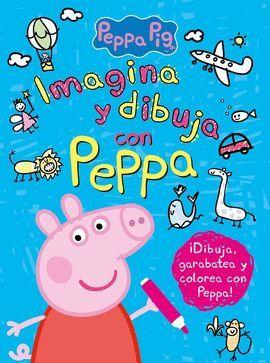 IMAGINA Y DIBUJA CON PEPPA PIG