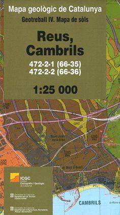 REUS, CAMBRILS 472-2-1 (66-35), 472-2-2 (66-36) 1:25.000