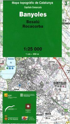 BANYOLES – 03 (BESALÚ, ROCACORBA) 1:25.000