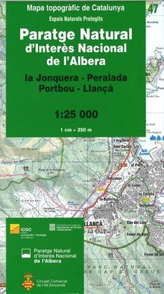 PARATGE NATURAL D'INTERÈS NACIONAL DE L'ALBERA – 47 (LA JONQUERA – PERALADA – PORTBOU – LLANÇÀ)