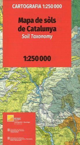 MAPA DE SÒLS DE CATALUNYA. SOIL TAXONOMY