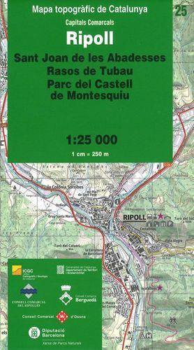 RIPOLL – 25 (SANT JOAN DE LES ABADESSES, RASOS DE TUBAU, PARC DEL CASTELL DE MONTESQUIU)