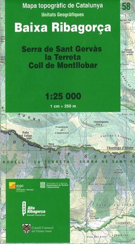 BAIXA RIBAGORÇA – 58 (SERRA DE SANT GERVÀS, LA TERRETA, COLL DE MONTLLOBAR)