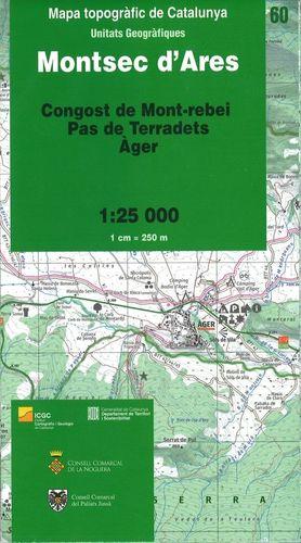 MONTSEC D'ARES – 60 (CONGOST DE MONT-REBEI, PAS DE TERRADETS, ÀGER)