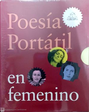 ESTUCHE POESÍA PORTÁTIL EN FEMENINO (8 VOLS)
