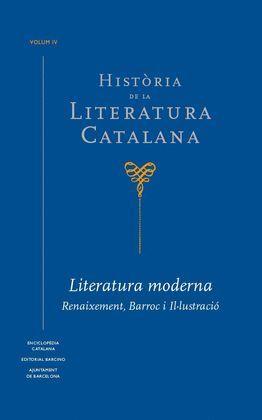 HISTÒRIA DE LA LITERATURA CATALANA VOL. IV