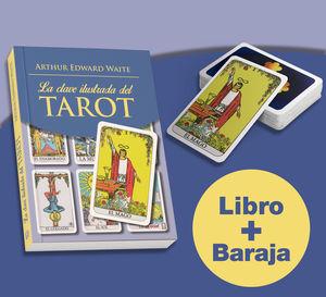 CLAVE ILUSTRADA DEL TAROT, LA  ( KIT LIBRO + CARTAS )