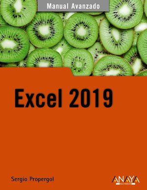 EXCEL 2019, MANUAL AVANZADO
