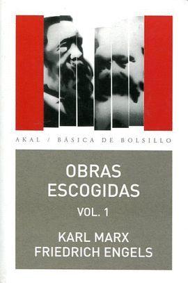 OBRAS ESCOGIDAS MARX-ENGELS VOL. 1
