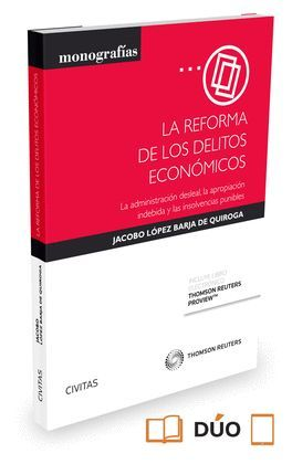 REFORMA DE LOS DELITOS ECONOMICOS,LA