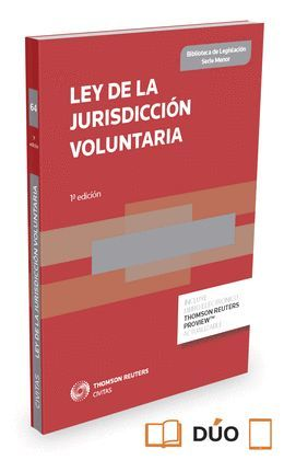 LEY DE LA JURISDICCIÓN VOLUNTARIA EXPRESS (1ª EDICIÓN 2015) DÚO