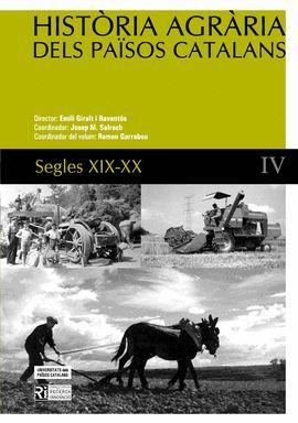 HISTORIA AGRARIA DELS PAISOS CATALANS IV SEGLES XIX-XX