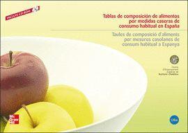 TABLAS DE COMPOSICION DE ALIMENTOS POR MEDIDAS CASERAS DE CONSUMO HABITUAL  ( INCL. CD-ROM )  CESNID