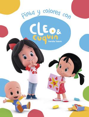 PINTA Y COLOREA CON CLEO Y CUQUÍN. FAMILIA TELERÍN